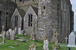 Graveyard at the Rock of Cashel