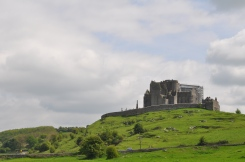 Rock of Cashel from the field