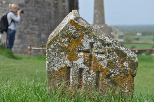 Gravestone at the Rock of Cashel